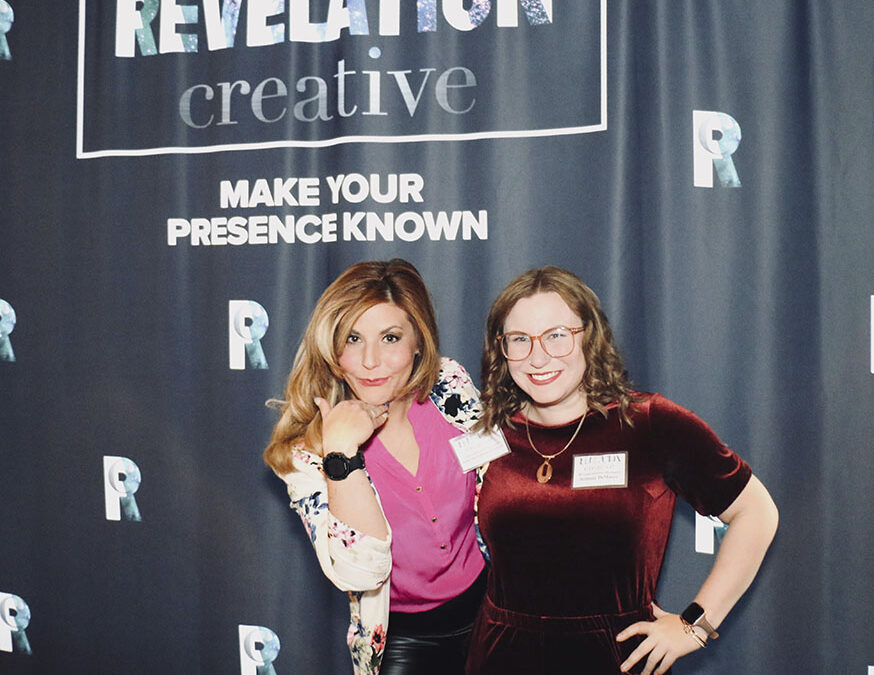 Revelation Creative's Gina and Brittany
